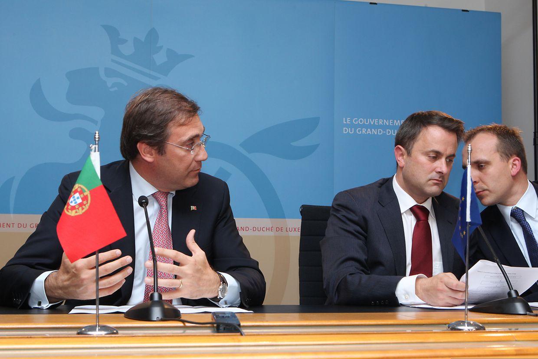 Bei einer Pressekonferenz konnten Premierminister Xavier Bettel und sein portugiesischer Amtskollege Pedro Passos Coelho ihre Meinungsunterschiede zum Thema Migration nicht verbergen.