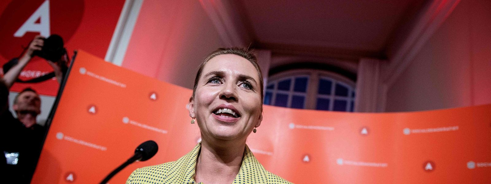 Die Sozialdemokratin Mette Frederiksen könnte die jüngste dänische Regierungschefin werden.