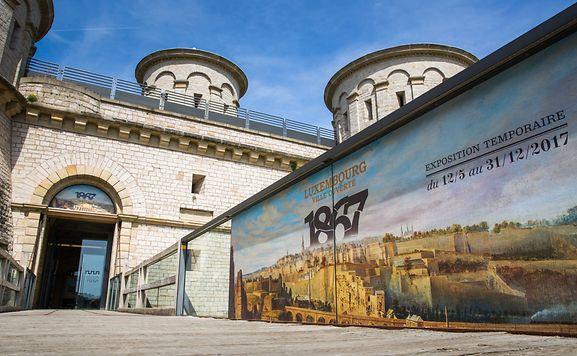 """Das Gebäude ist unser größtes Museumsobjekt"", sagt Änder Bruns, Kurator der Ausstellung ""1867 – Luxembourg ville ouverte""."