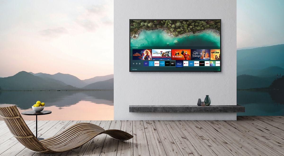 Ungetrübtes Fernsehen unter freiem Himmel verspricht Samsung mit The Terrace.
