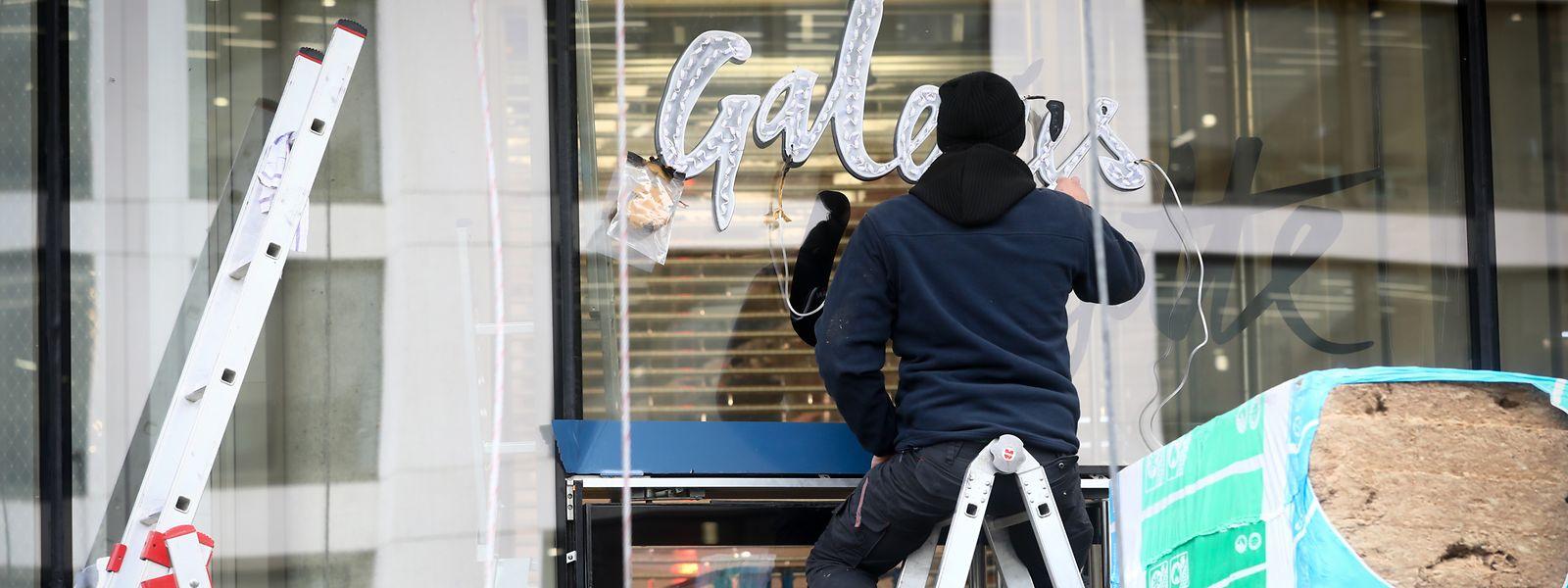Les Galeries Lafayette avaient annoncé une ouverture pour le début de l'Avent : délai tenu.