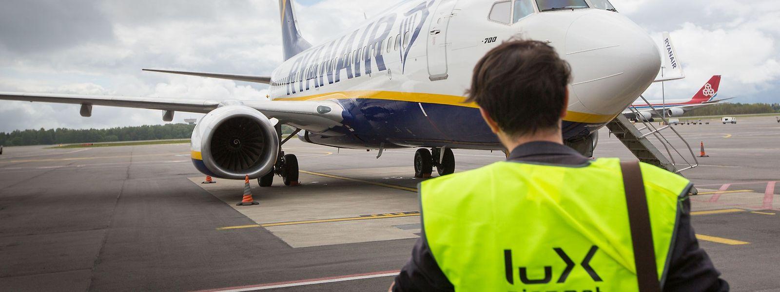 Die Iren rechnen am Findel nun bereits mit über 450000 Passagieren pro Jahr.