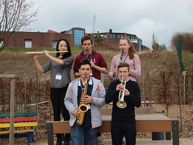 Five ISL students have been selected for the AMIS festival orchestra.