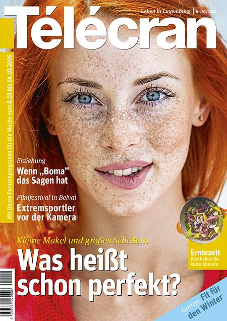 """Jünger, frischer, moderner: Der """"Télécran"""" in neuem Gewand."""