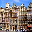 """Die """"Grand-Place"""", eines der Wahrzeichen von Brüssel."""