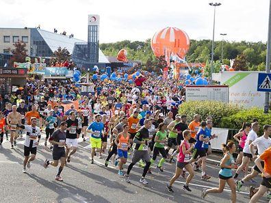Auch im vergangenen Jahr fand der Marathon den gewohnt großen Anklang.