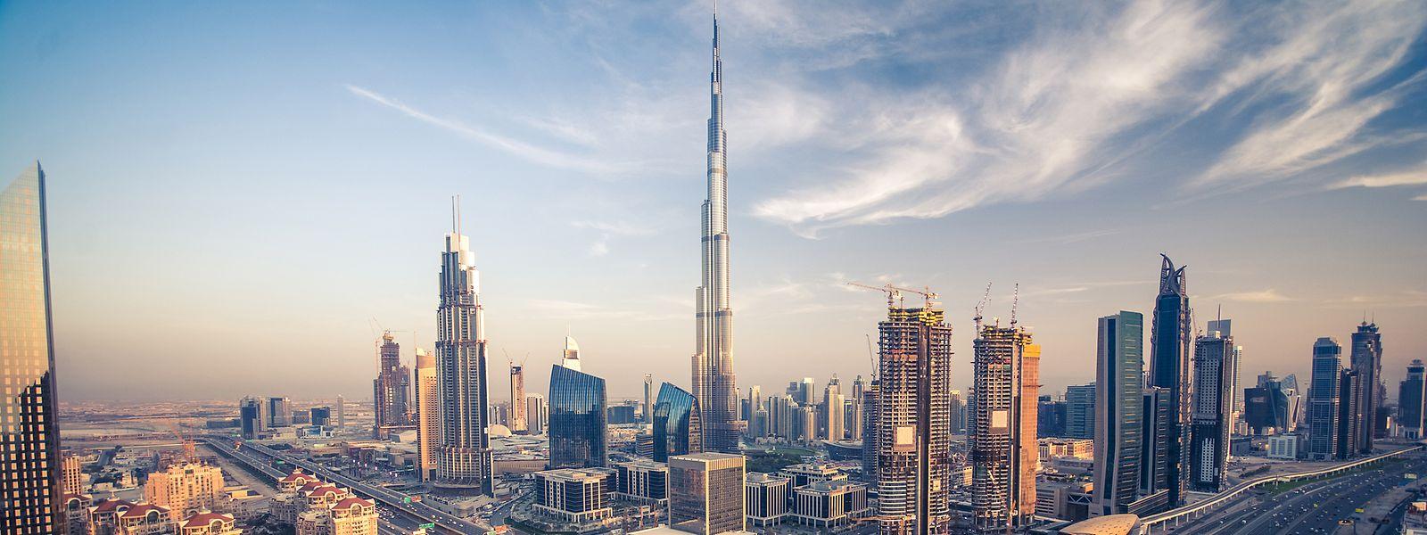 Früher umgeben von Sand und Weite, heute nur die Spitze des Eisbergs: das Burj Khalifa.