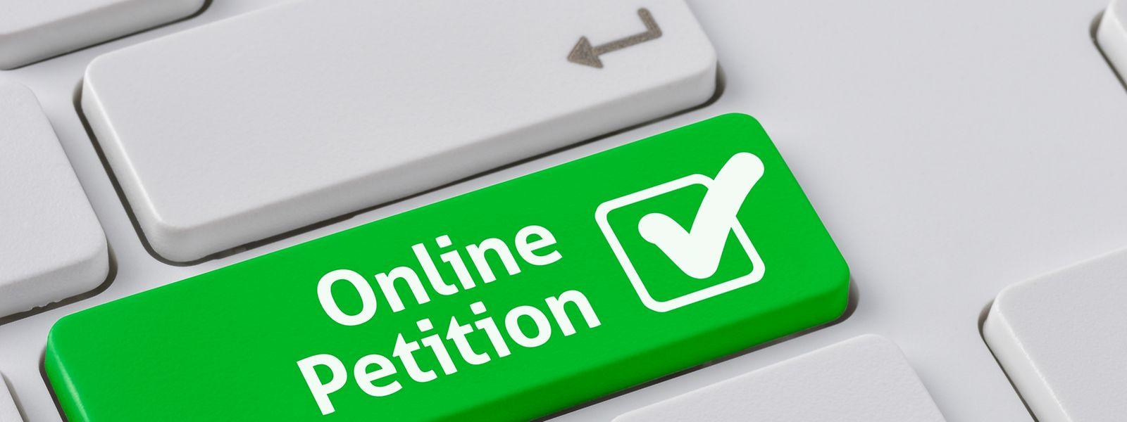 Wegen der Corona-Krise ist es derzeit nicht mehr möglich, Petitionen zu unterschreiben, weder online noch auf Papier.