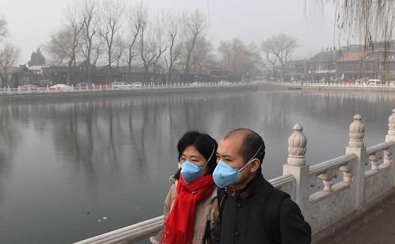 Pékin débute 2017 sous un épais nuage de pollution