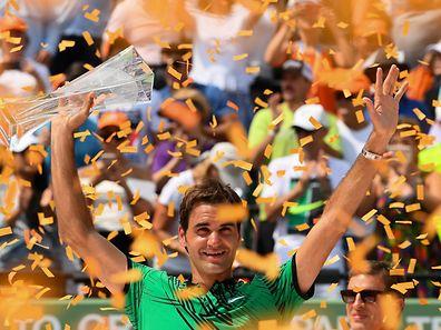 Roger Federer findet allmählich wieder zurück zu alter Stärke.