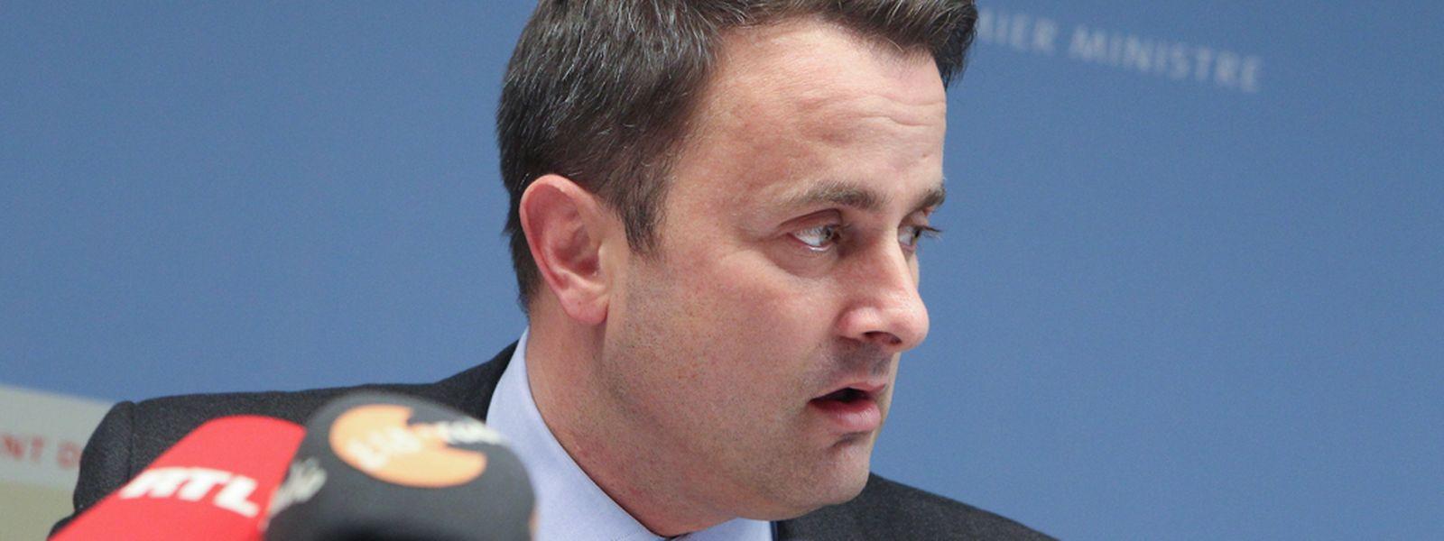 Premierminister Xavier Bettel will die Einwände des Staatsrates im Detail analysieren.