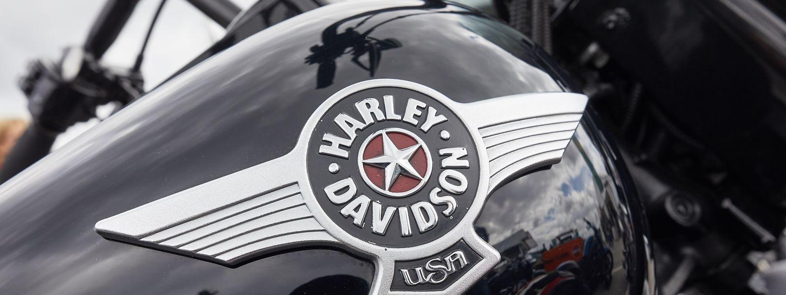 Die Maschinen von Harley Davidson erfreuen sich in Europa großer Beliebtheit.