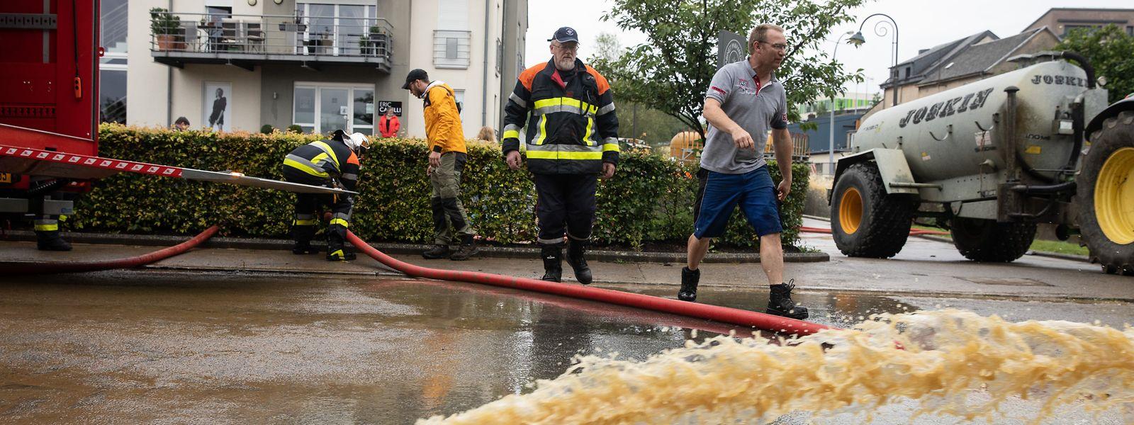 Au Luxembourg, les eaux sont de nouveau montées dans la nuit de mardi à mercredi, dans le sud du pays cette fois-ci.