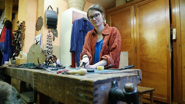Lokales, Beruf Geschirrmachers, Pferde, Sattel, Handwerk, De Leederwon,  Foto: Anouk Antony/Luxemburger Wort