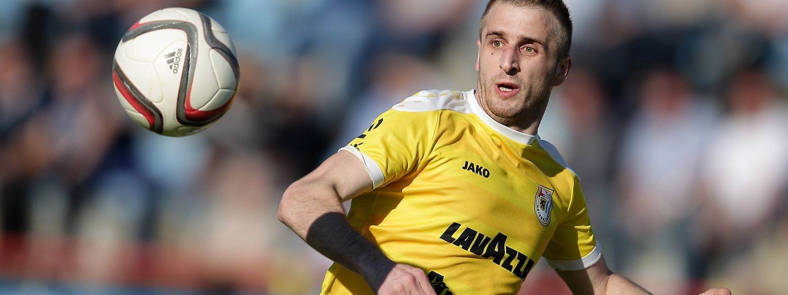 Sanel Ibrahimovic möchte sich gegen Mondorf in die Torschützenliste eintragen.