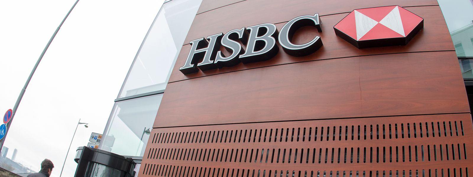 A Luxembourg, HSBC emploie entre 400 et 500 personnes réparties sur deux entités