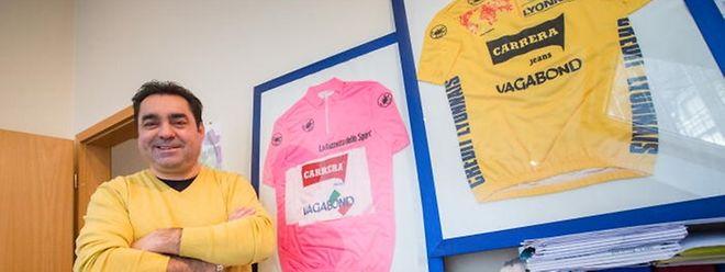 Professionnellement très occupé, Acacio da Silva ne profite aujourd'hui que des mois d'été pour enfourcher son vélo.