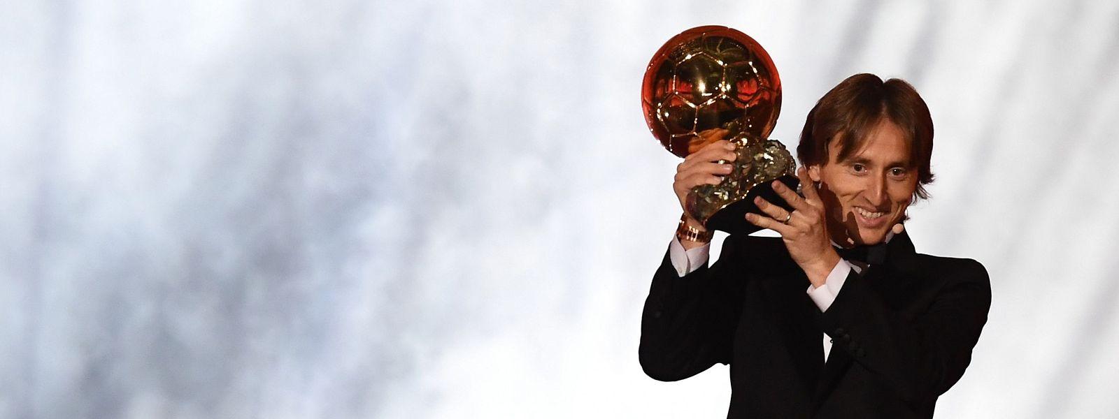 Luka Modric hat im Jahr 2018 alle überzeugt.