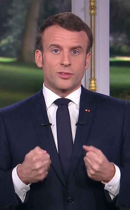 """Präsident Emmanuel Macron hat den Franzosen einen """"rastlosen Kampf"""" gegen den islamistischen Terrorismus versprochen."""