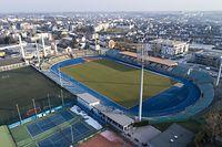 Stade Josy Barthe, Route d'Arlon