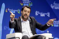 ARCHIV - 21.06.2019, Italien, Mailand: Vize-Regierungschef und Innenminister Matteo Salvini. (zu «Regierungskrimi in Italien - Lega: Neuwahl einzige Alternative») Foto: Mourad Balti Touati/LaPresse via ZUMA Press/dpa +++ dpa-Bildfunk +++