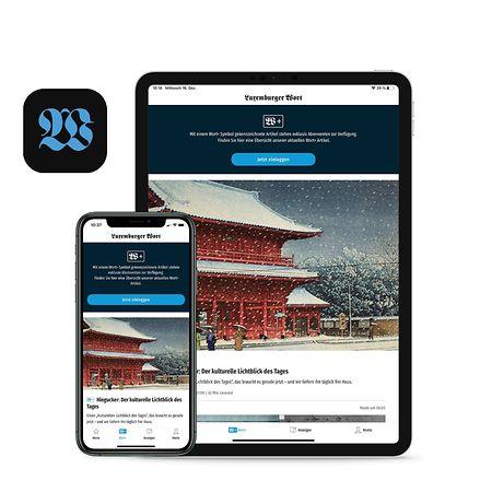 """Die App des """"Luxemburger Wort"""" funktioniert sowohl auf dem Smartphone als auch auf dem Tablet."""