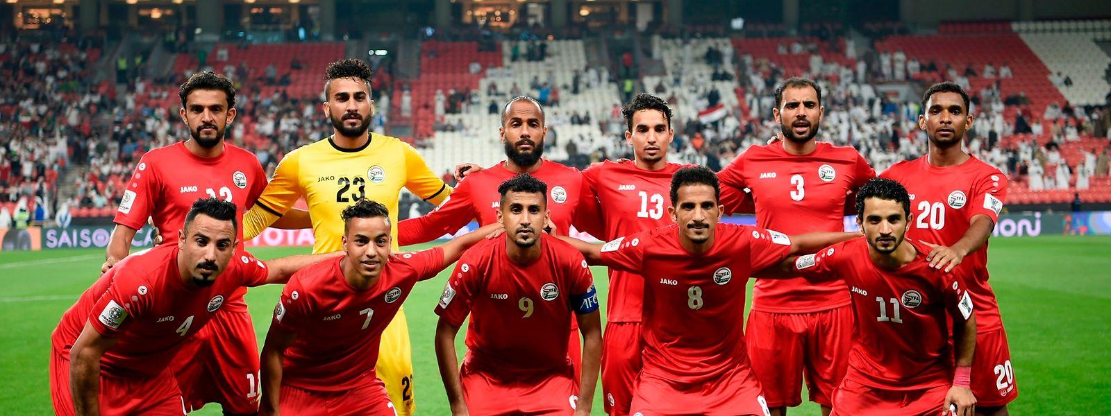 Die Nationalmannschaft Jemens tritt derzeit beim Asien-Cup an.