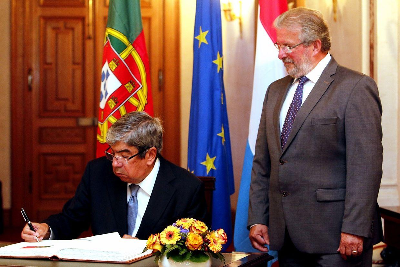 Ferro Rodrigues foi recebido na Câmara dos Deputados por Mars Di Bartolomeo