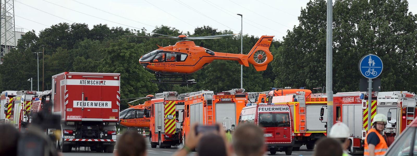 Bei einer Explosion im Chempark Leverkusen starben am Dienstagmorgen mindestens fünf Menschen.