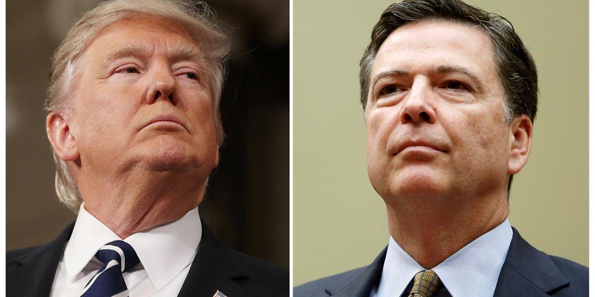Donald Trump a limogé mardi le patron du FBI James Comey, provoquant une onde de choc à Washington où des élus ont évoqué le spectre du Watergate.