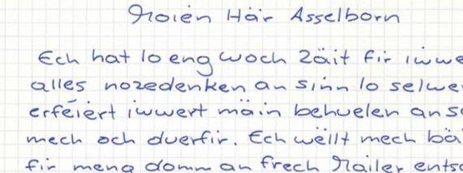 In einem knappen Brief entschuldigt sich der Autor der Hassmails bei Außenminister Jean Asselborn für sein Vergehen.