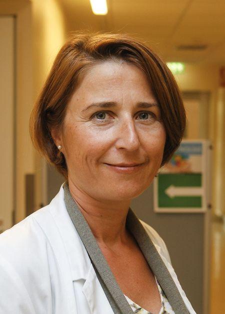 Expertin Vicky Kuffer berät Krebspatienten.
