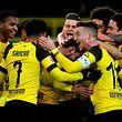 Nicht zu stoppen: die Fußballer von Borussia Dortmund.