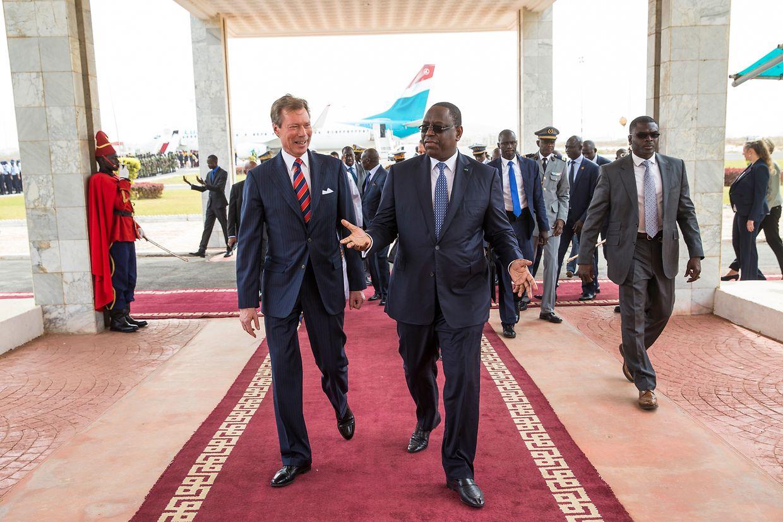 Visita de Estado do Luxemburgo ao Senegal.