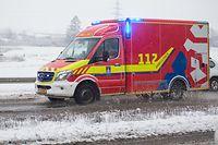 Lokales, CGDIS, RTW Rettungstransportwagen im Einsatz, Foto: Guy Wolff/Luxemburger Wort