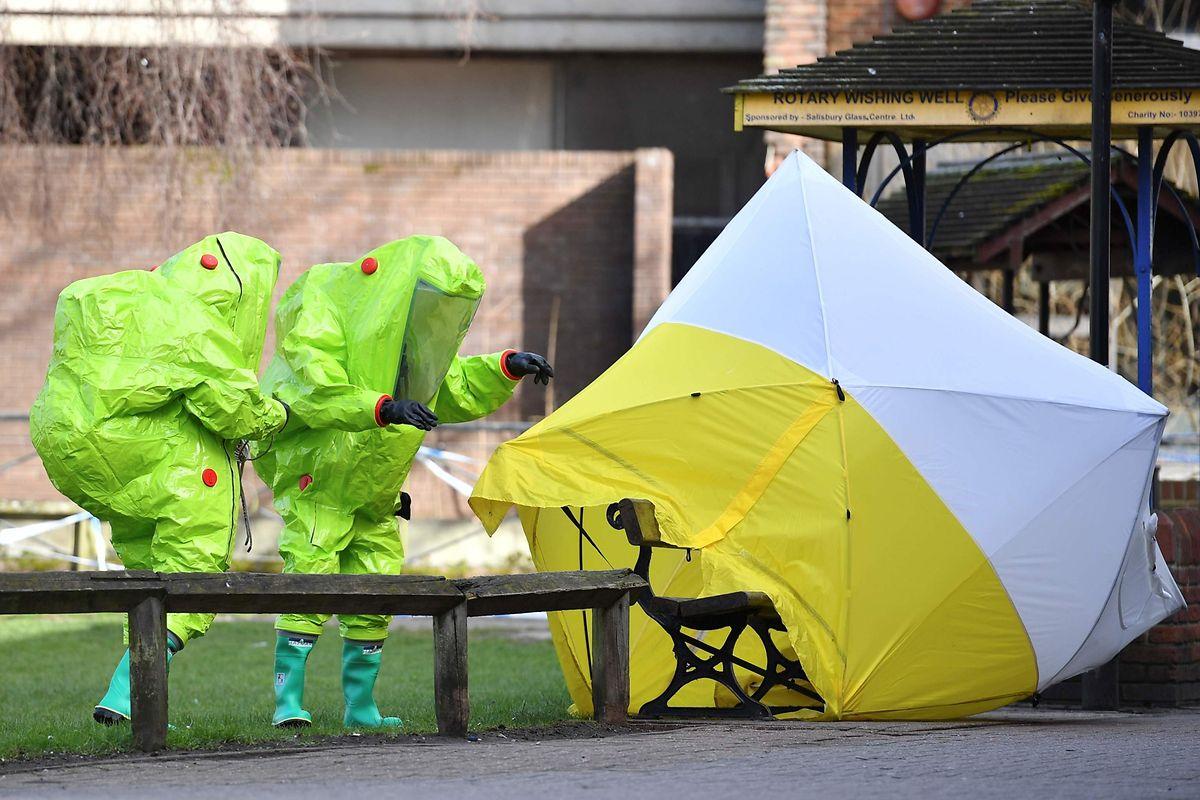 """""""Mit welchen Methoden haben die Experten das Gift identifiziert"""", will Russland nun von Großbritannien wissen. Nur eine von 27 Fragen, die Moskau am Freitag London hat zukommen lassen."""