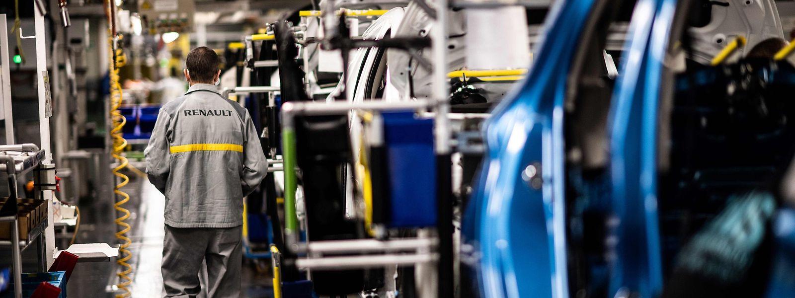 Im Werk Flins Flins im Pariser Großraum soll ein Recyclingzentrum entstehen.