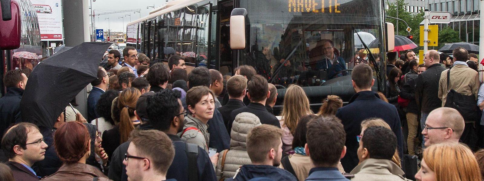 Bis Donnerstag inklusive müssen Bahnnutzer zwischen Frankreich und Luxemburg mit Störungen rechnen.