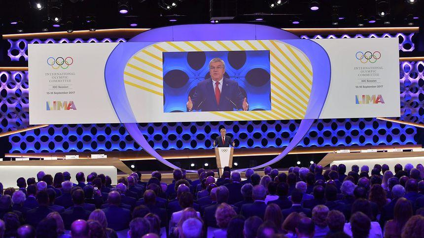 IOC-Präsident Thomas Bach wollte keine der beiden Städte vergraulen.