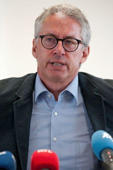 """Leiter des Dezernats für Jugendschutz und Sexualstraftaten, Claude Weis: """"Wir stellen eine sehr bedenkliche Entwicklung fest."""