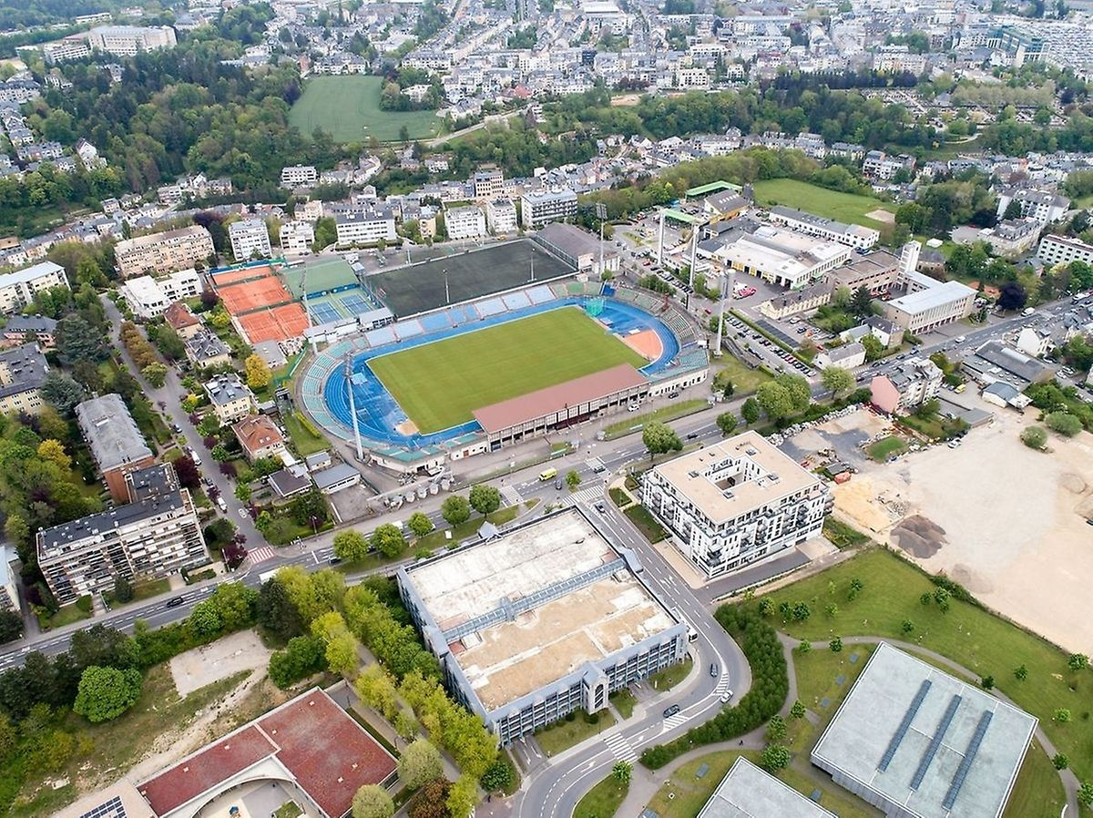 The area around the Stade Josy Barthel is to be redeveloped