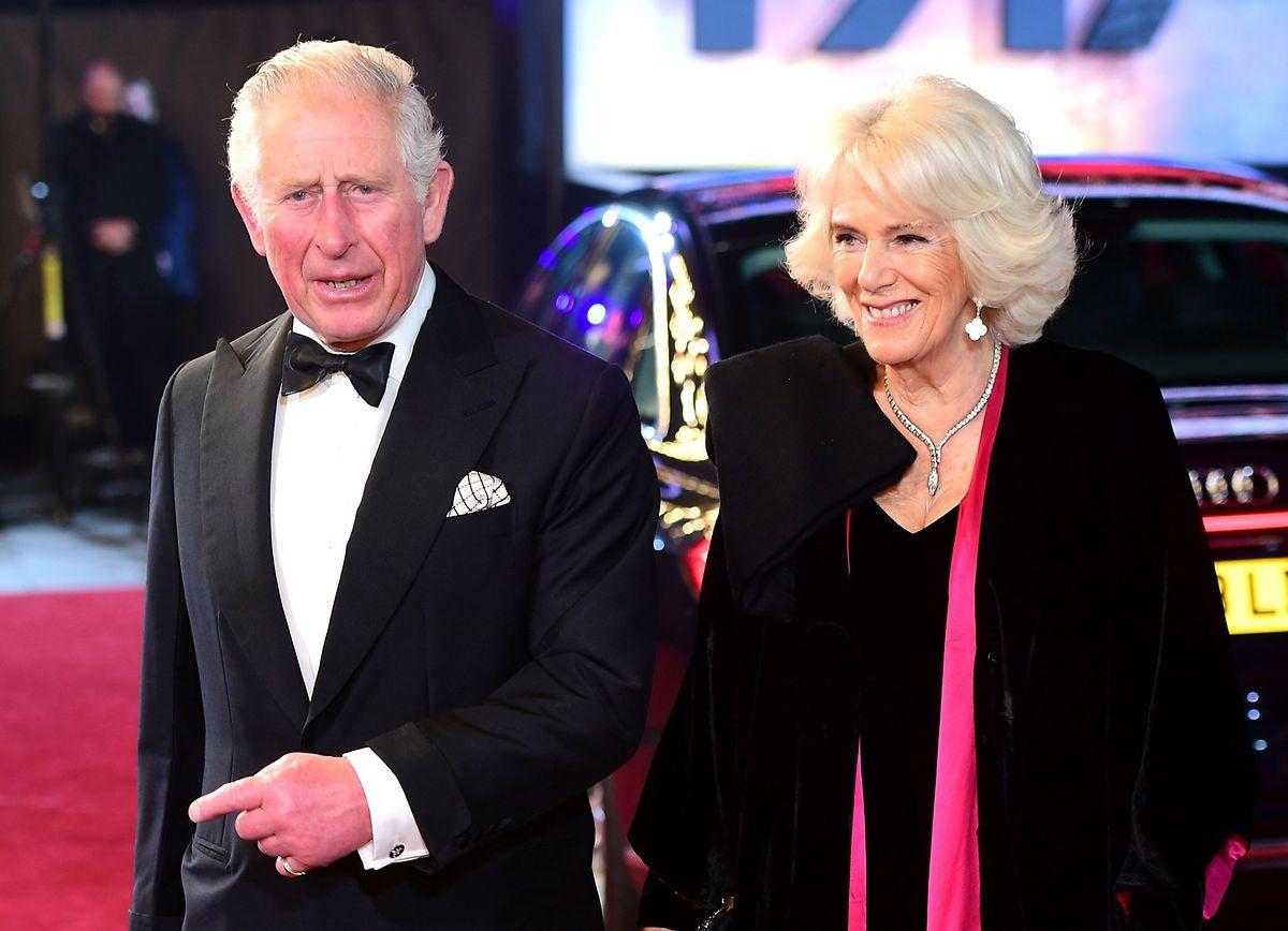 Herzogin Camilla wurde ebenfalls getestet - sie ist nicht infiziert.