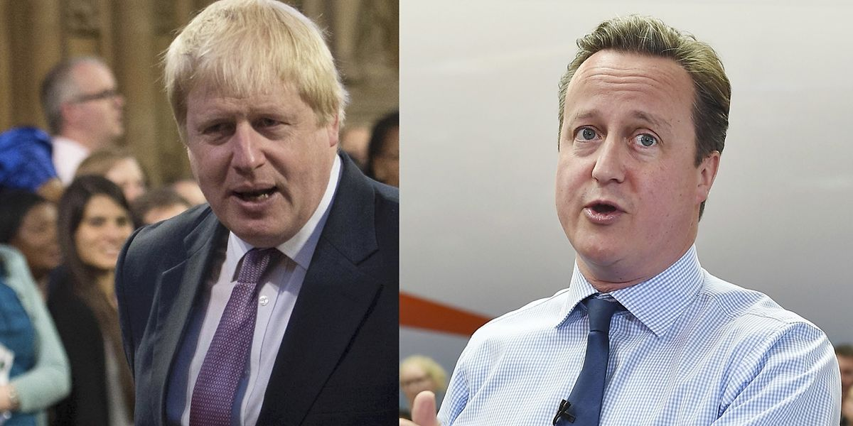 Londons Ex-Bürgermeister ist Wortführer der EU-Gegner, während Premier David Cameron sich für einen Verbleib einsetzt und die Gefahren des Ausstiegs beschwört.