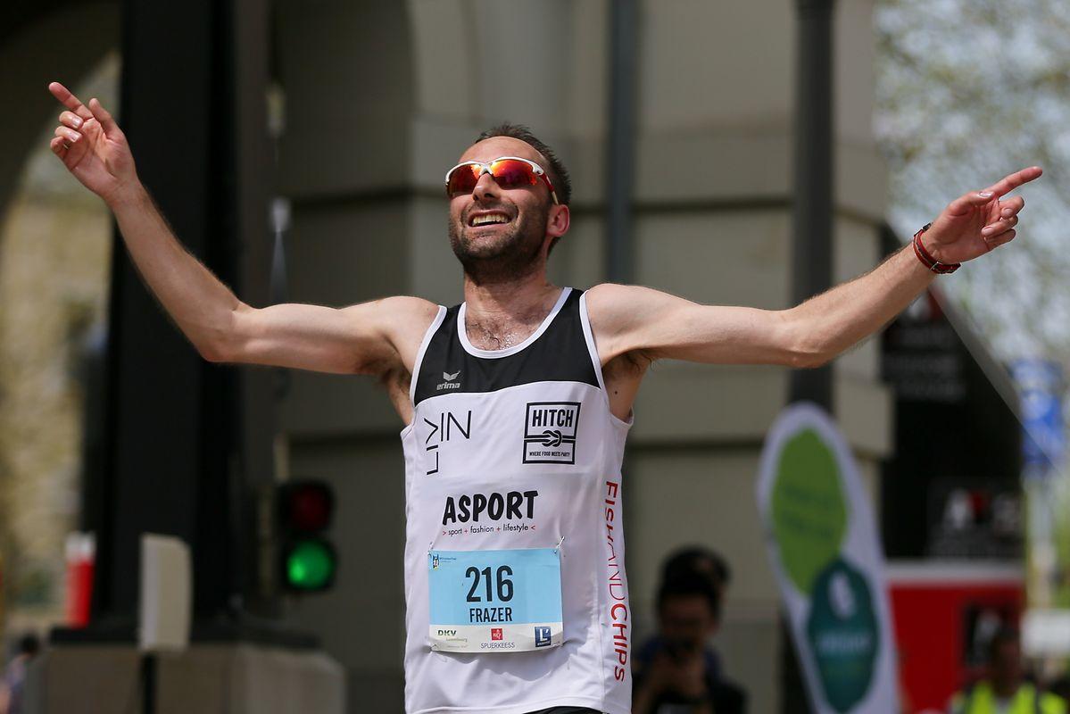 Nach 2015 gewann mit Frazer Alexander wieder ein Luxemburger beim Urban Trail.