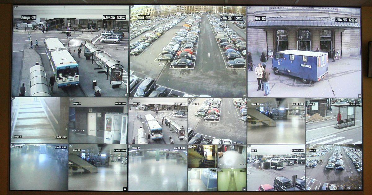 Bilder der Visupol-Kameras im Bahnhofsviertel.
