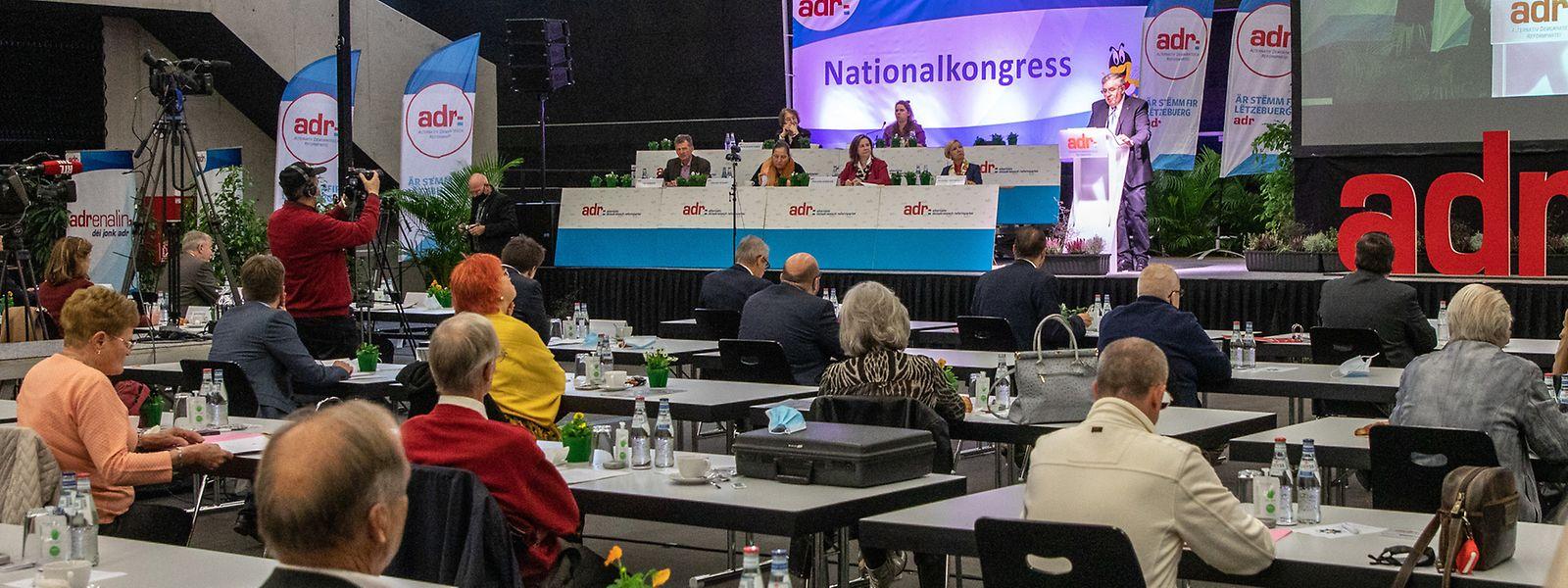 Ils étaient plus d'une centaine de membres à prendre part au congrès national.