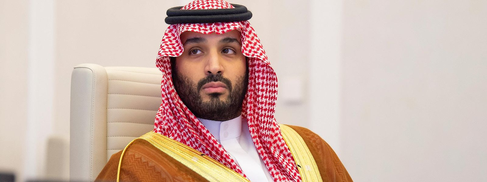 Kronprinz Mohammed bin Salman bin Abdulaziz Al Saud von Saudi-Arabien.