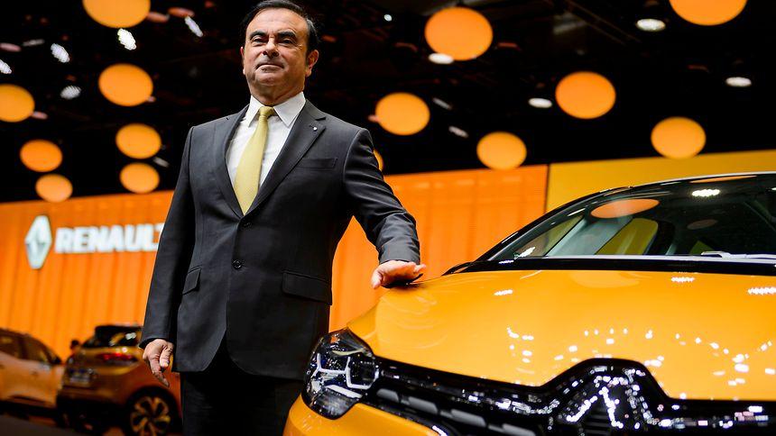 Ghosn bleibt an der Spitze von Renault