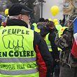 Wie hier in Saint-Louis machen die Gelbwesten in ganz Frankreich Druck auf die Regierung.