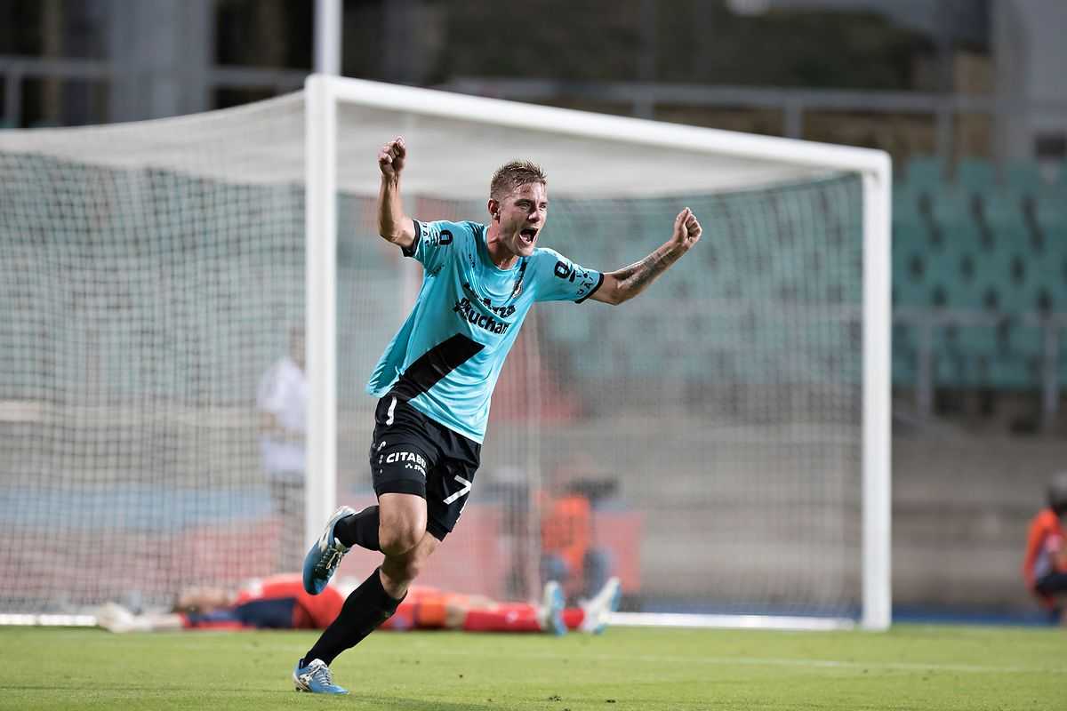 David Turpel marcou o primeiro golo do F91 Dudelange.